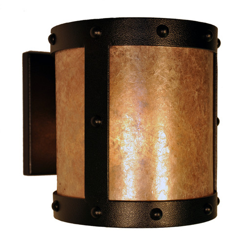 Open Sconce with Rivets