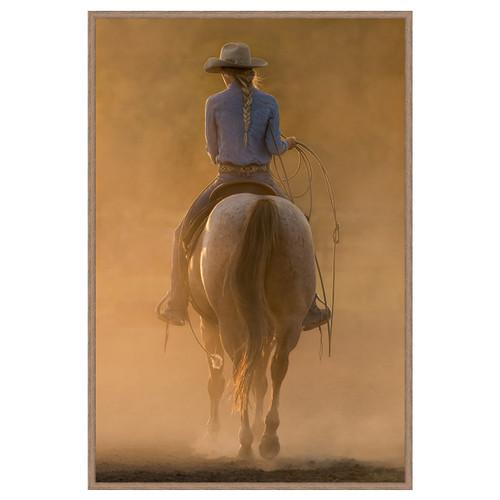 A Girl & Her Horse Wall Art