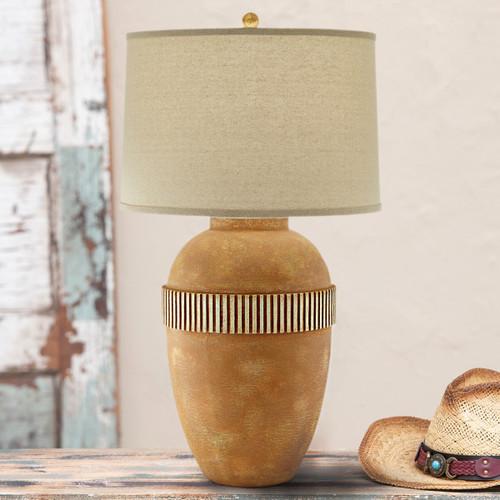 Adobe Mesa Table Lamp