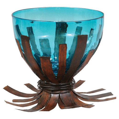 Agave Turquoise Centerpiece Bowl