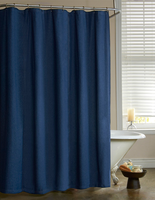 American Denim Shower Curtain  - OUT OF STOCK