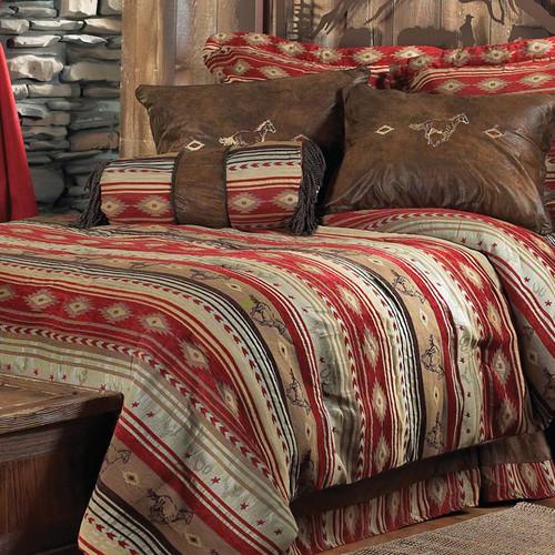 Flying Horse Bed Set - King