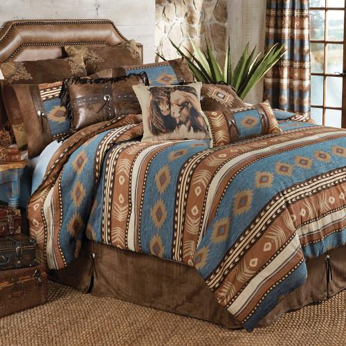 Desert Arrow Bed Set - King