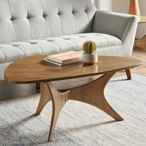 Arrowhead Wood Coffee Table - Light Brown