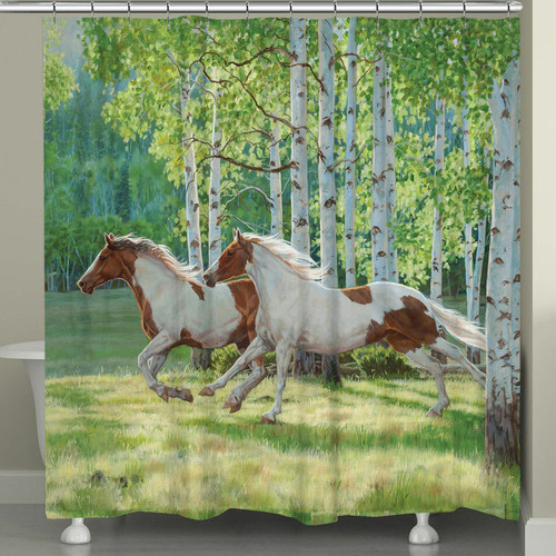 Aspen Run Shower Curtain