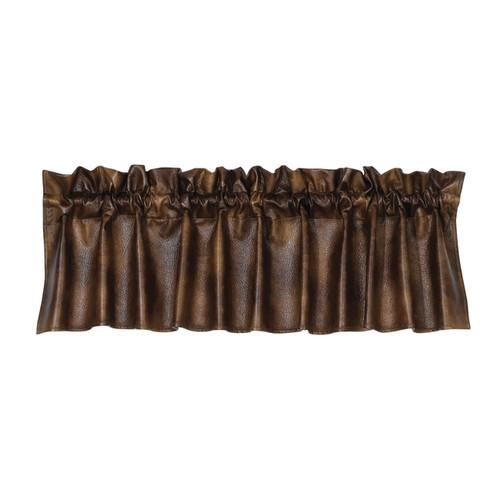 Austin Faux Leather Valance