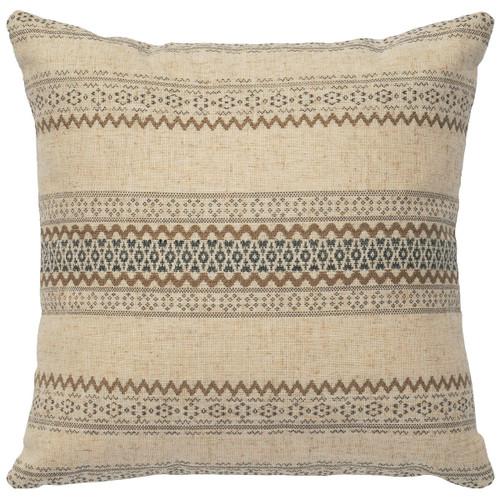Ava Square Geometric Pillow
