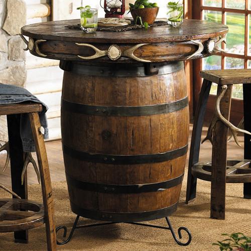 Antler & Barrel Pub Table
