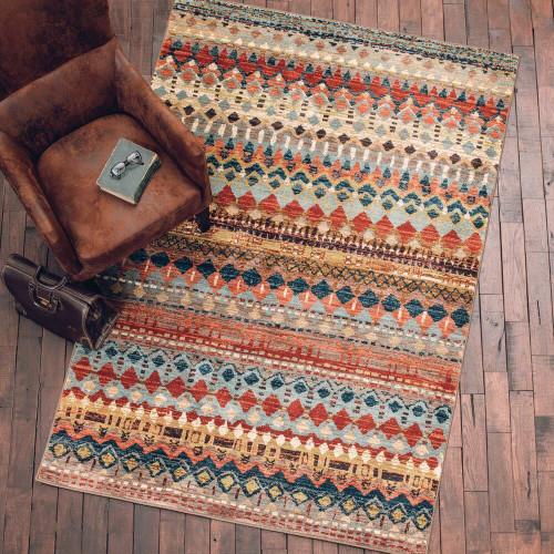 Aztec Lore Multi Rug - 10 x 13