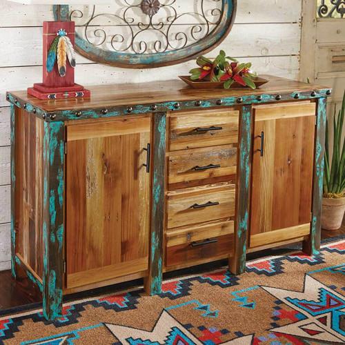 Azul Barnwood Buffet/Cabinet