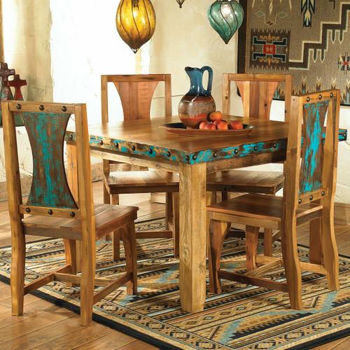 Azul Barnwood Table & Chairs (5 pcs)