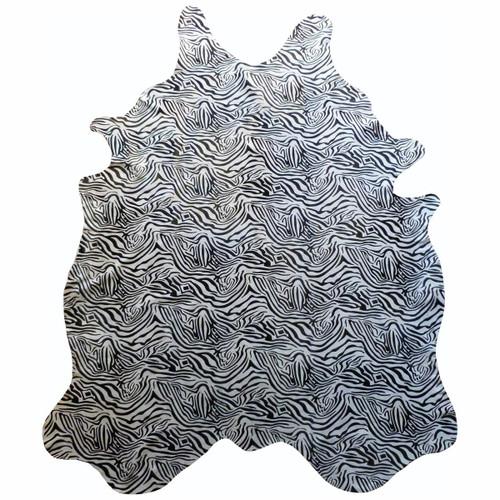 Baby Zebra Cowhide - Standard