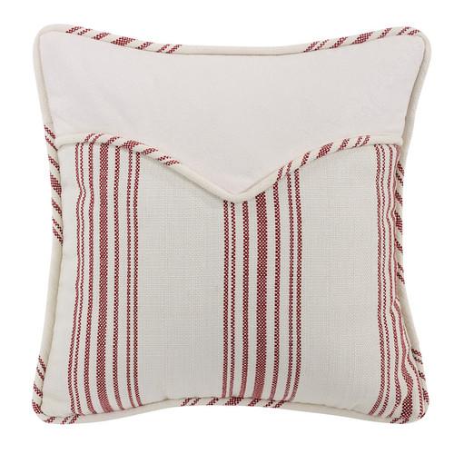 Bandana Red Stripe Envelope Pillow