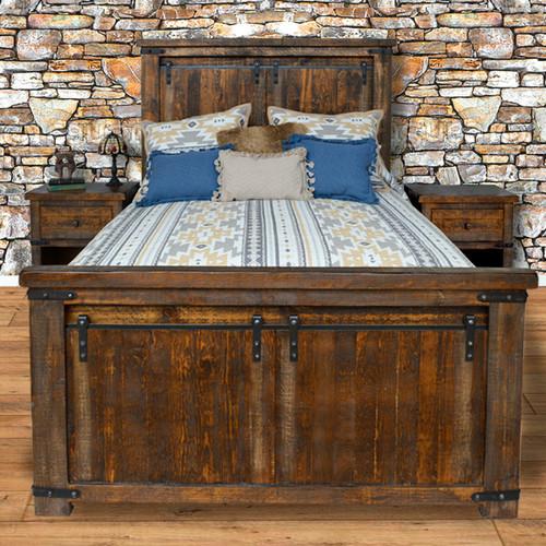 Barn Door Bed - Queen
