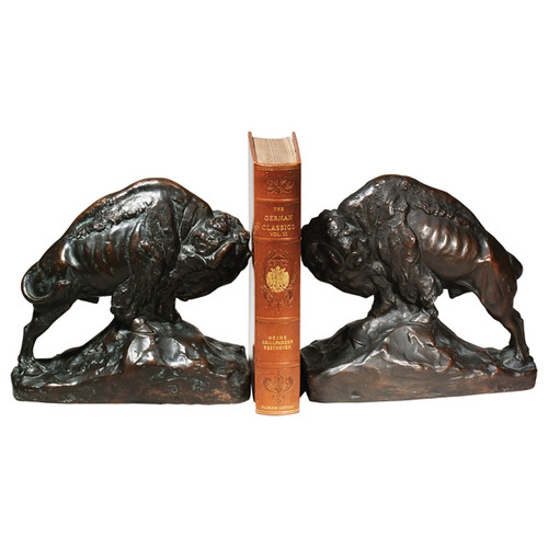 Bison Bookends