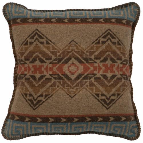 Bison Ridge I Large Square Pillow