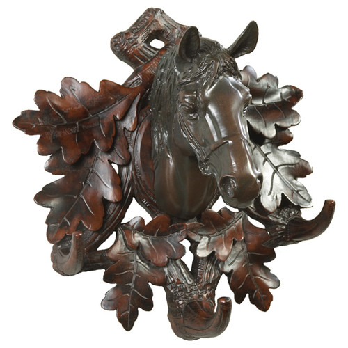 Black Forest Horse Wall Hooks