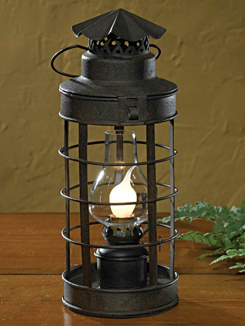 Black Stagecoach Lantern Lamp