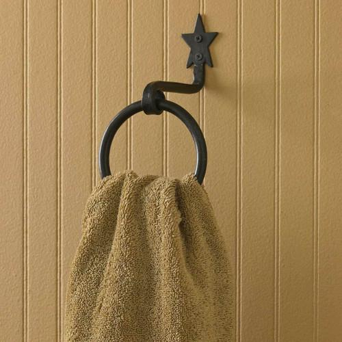 Black Star Towel Hook