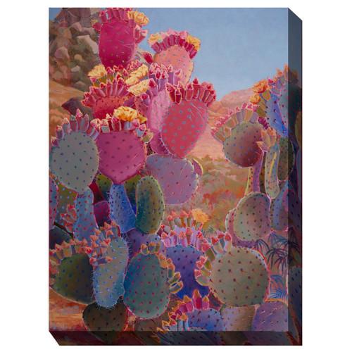 Blooming Desert Outdoor Wall Art