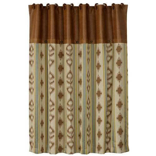 Blue Eagle Shower Curtain