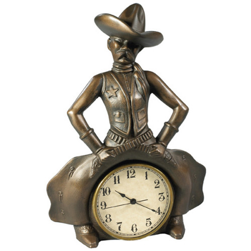 Bowlegged Cowboy Clock