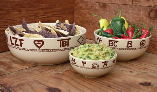 Branded Serving Bowl Set (3 pcs)
