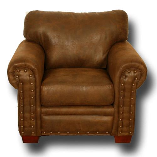 Buckskin Armchair