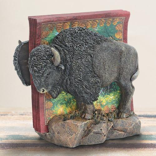 Buffalo Roam Napkin Holder