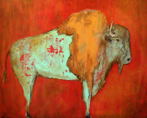 Buffalo Spirit Canvas Wall Art