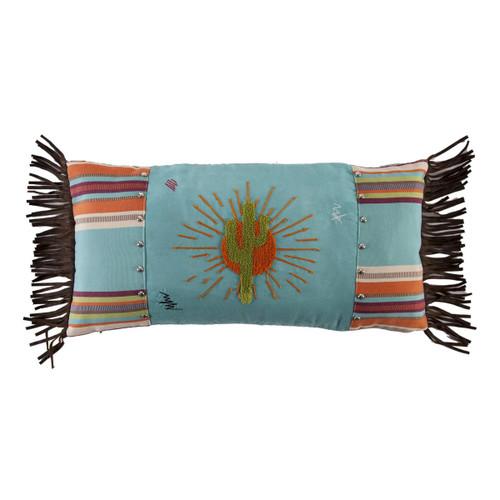 Cactus Burst Fringe Pillow