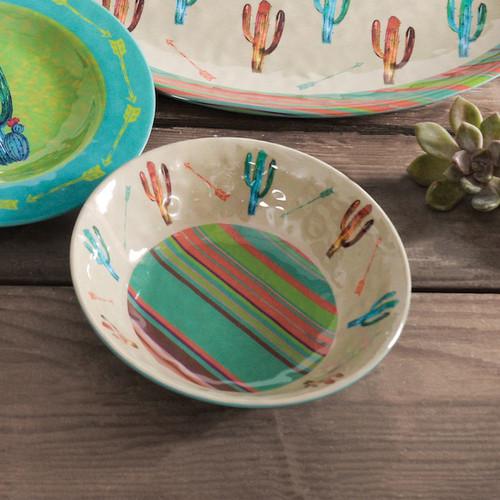 Cactus Design Melamine Bowl Set of 4 - OVERSTOCK