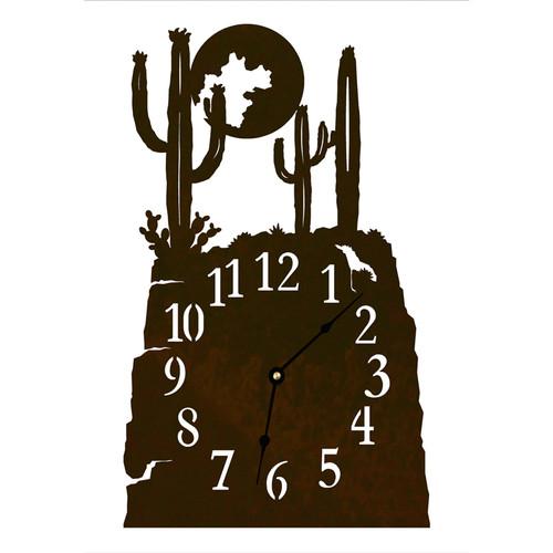 Cactus Table Clock