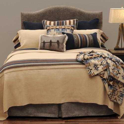 Cadillac Ranch Bedspread - Super Queen
