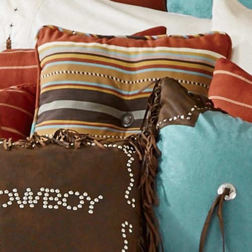 Calhoun Stripe Tufted Pillow