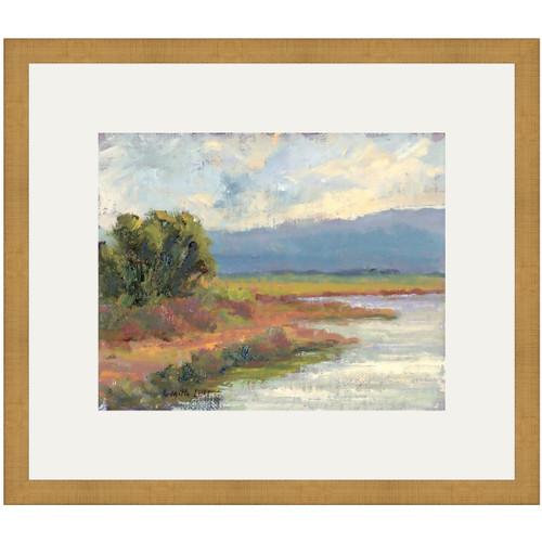 Canyon Riverbank III Canvas Art