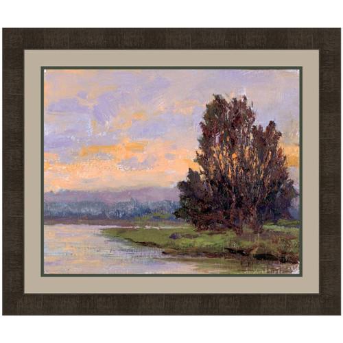 Canyon Riverbank IV Canvas Art