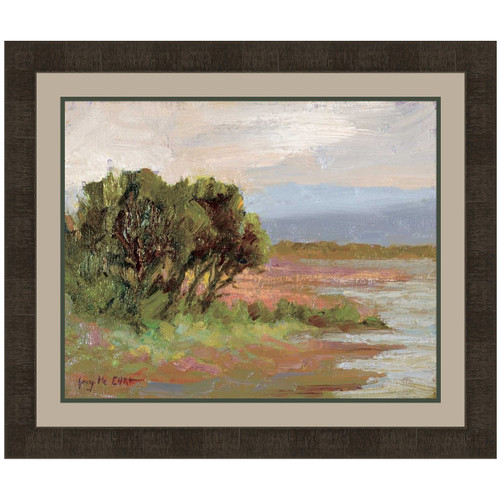 Canyon Riverbank V Canvas Art