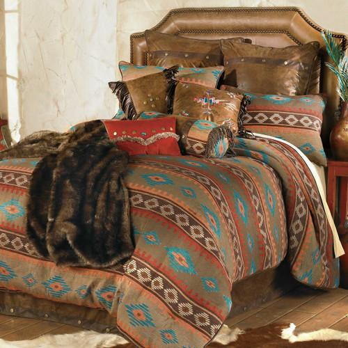 Canyon Shadows Bed Set - King