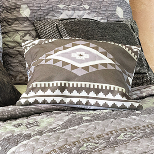 Canyon Slate Accent Pillow