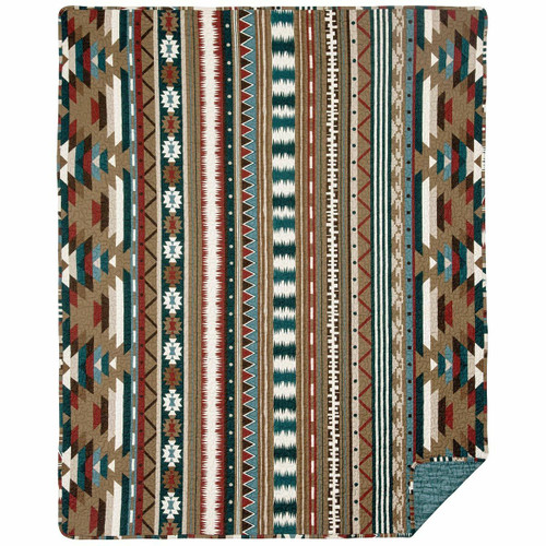 Carrizo Springs Quilted Throw
