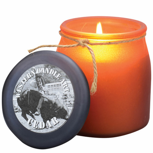 Cedar Western Jar Candle
