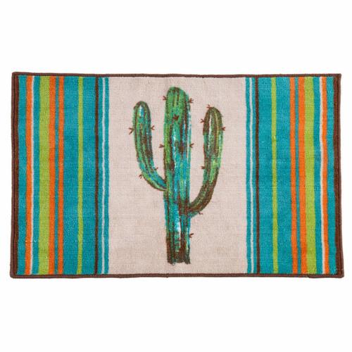 Cheyenne Stripes Cactus Rug