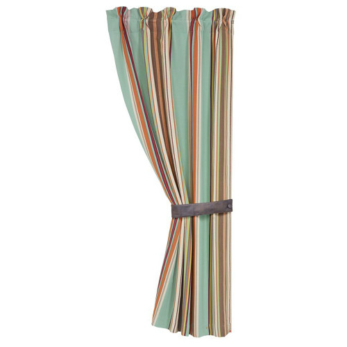 Cheyenne Stripes Curtain and Tie Back