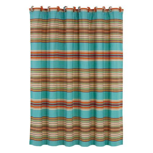 Cheyenne Stripes Shower Curtain
