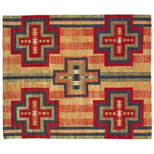 Chief Blanket Beige Rug - 4 x 6