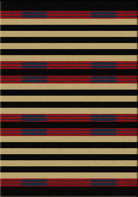Chief Stripe Rug - 3 x 4