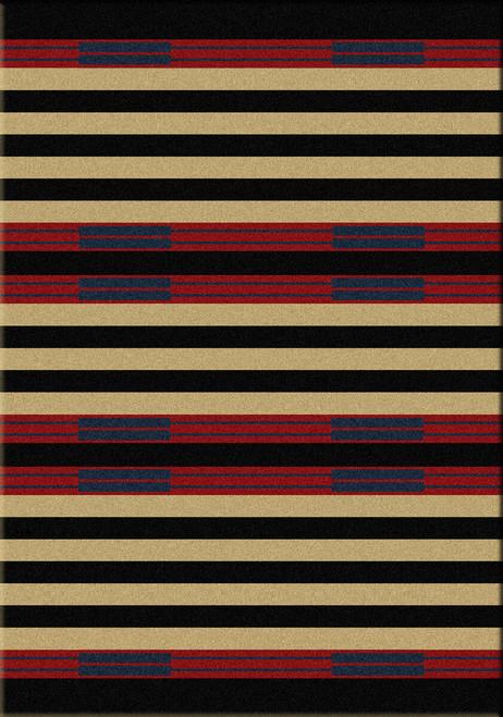 Chief Stripe Rug - 4 x 5