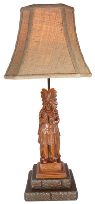 Cigar Store Indian Lamp