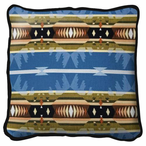 Cimarron Blue Pillow